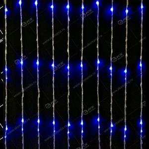 """Гирлянда """"Водопад"""" 2х2м 480LED в коробке синий"""