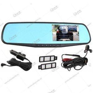 Зеркало-видеорегистратор Vehicle Blackbox с задней камерой