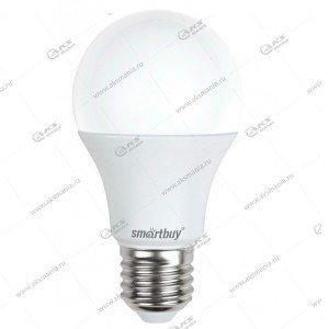 Лампа светодиодная Smartbuy A60-7W-220V-4000К-E27 (белый свет)