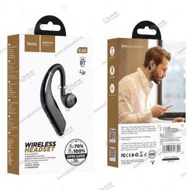 Bluetooth гарнитура Hoco E48 Superior черный