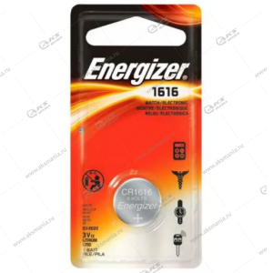 Элемент питания Energizer CR1616/1BL