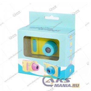 Детский фотоаппарат Kids Camera Summer Vacation желтый