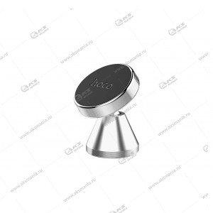 Автодержатель Hoco CA46 для телефона/на торпеду/магнитный серый