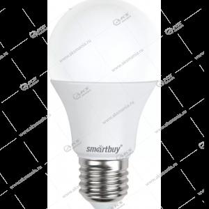 Лампа светодиодная Smartbuy A60-9W-220V-3000К-E27 (теплый свет)