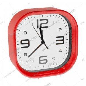 Часы 1001 будильник красный