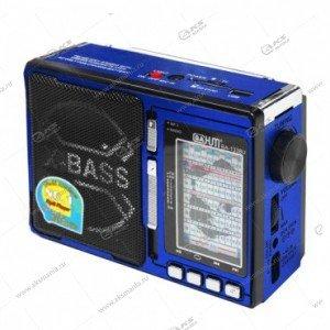 Колонка портативная BaHm BA-1337U FM TF USB синий