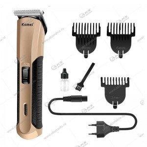 Машинка для стрижки волос Kemei KM-528