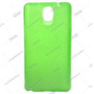 Пластик Samsung S4/i9500 тонкий зеленый