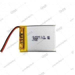 Аккумулятор универсальный 403040 480mAh литий-ионный