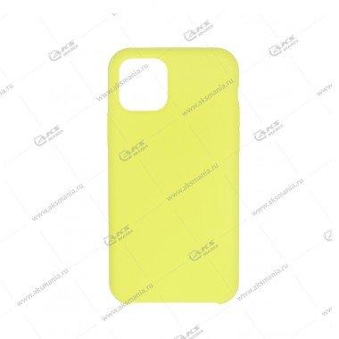 Silicone Case (Soft Touch) для iPhone 11 Pro лимонный