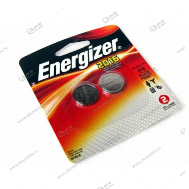 Элемент питания Energizer CR2016/2BL
