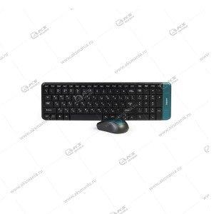 Клавиатура беспроводной набор Smartbuy SBC-2222358AG-K черный