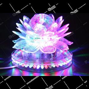 """Светодиодная лампа """"Лотос"""" на подставке"""