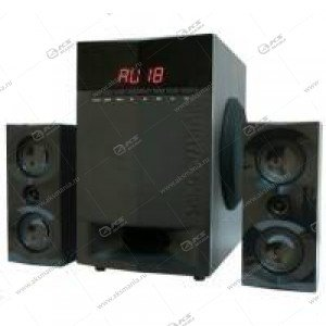Акустические колонки AP-230 BLACK Dialog Progressive 2.1, 35W+2*15W RMS, BT, FM, USB+SD