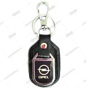 "Брелок для ключей металлический+кожа ""Opel"""