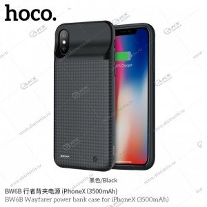 Power Bank Case for IP X HOCO BW6B 3500mAh черный