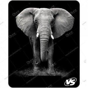 "Коврик для мышки VS ""Фауна"", ""Слон"" (194*233*3 мм) полипропилен+вспененный пластик"