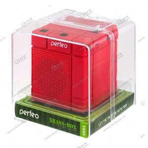 Колонка портативная Perfeo Xbass-Box BT красный