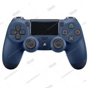 Gamepad PS4 Dualshock 4 wireless полупрозрачный синий
