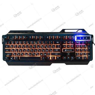 Клавиатура KGK-25U Dialog Gan-Kata - игровая с подсветкой 3 цвета, корпус металл, USB, чёрная