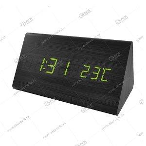 Часы Perfeo Pyramid PF-S710T черный/ зеленый