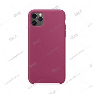 Silicone Case (Soft Touch) для iPhone 11 Pro Max сиреневый