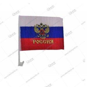 """Флаг для машины """"Россия"""" 45x32см"""