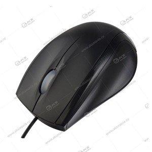 Мышь проводная Perfeo Class оптическая, 3 кн, DPI 1000,USB (PF-A4750) черный