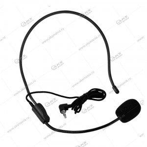 Микрофон проводной наголовный для экскурсовода