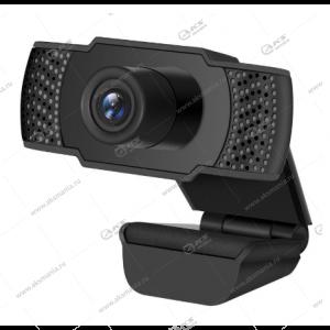 Веб-камера Z07 с микрофоном, черная
