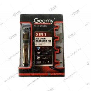 Машинка для стрижки волос 5в1 Geemy GM-6596