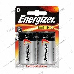 Элемент питания Energizer LR20/2BL Alkaline Power