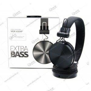Наушники Extra bass MDR-650AP черный