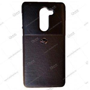 Силикон Huawei Nova 2 кожа NEW с логотипом черный
