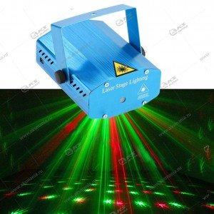 Лазерный проектор JIN-4G узоры