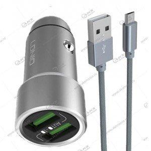АЗУ LDNIO C302 3.6A 2USB + кабель Lightning