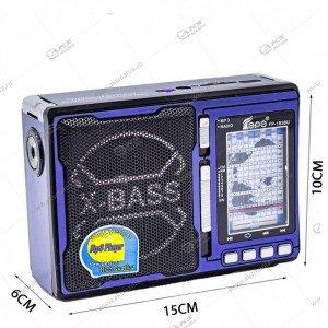 Колонка портативная EPE FP-1338BT FM TF USB синий