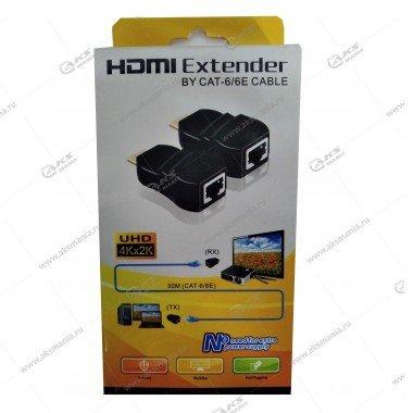 HDMI удлинитель 30 м EXTENDER по витой паре