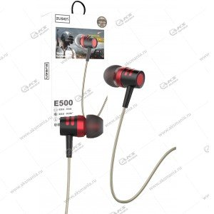 Наушники ZUSEN E500 черно-красные