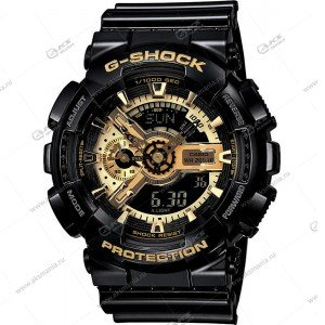 Наручные часы C-Shock в коробке черные с золотым