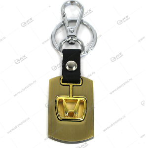 """Брелок для ключей металлический """"Honda"""""""