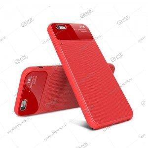 Силикон Art of Photo Xiaomi Redmi 6 Pro тонкий красный