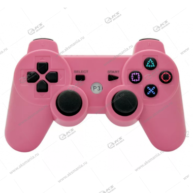 Gamepad PS3 Dualshock 3 wireless розовый