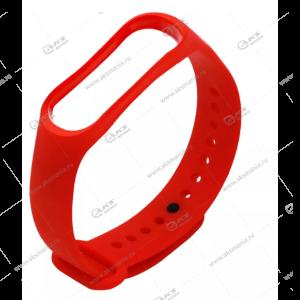 Ремешок на Mi Band 3/4 красный