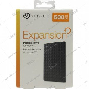 Внешний HDD Seagate 2,5 500 GB Original Expansion Portable USB3.0 black
