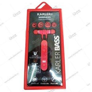 Наушники Bluetooth Karler Bass BT-501 красный