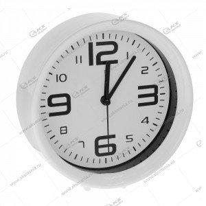 Часы 1002 будильник белый