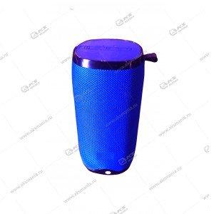 Колонка портативная Charge E12 mini BT TF синий