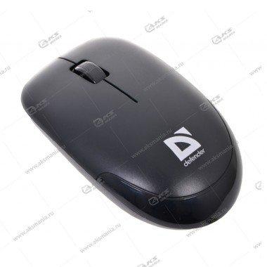 Мышь беспроводная Defender Datum MM-015 Nano black