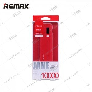 Power Bank Proda Jane PPL-5 10000mAh красный